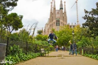 FreezeJump in Barcelona